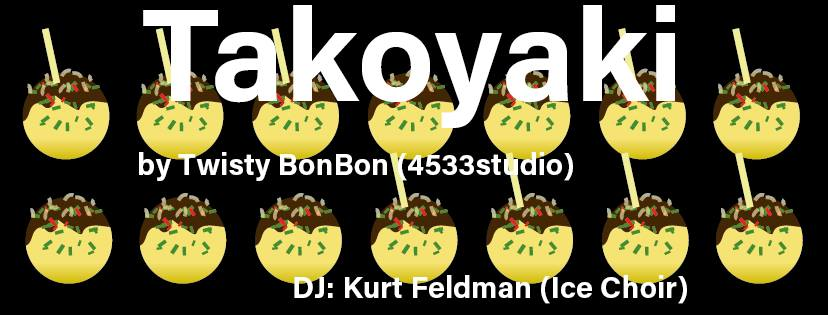 takoyaki, music, DJ Kurt Feldman, Fantasista Utamaro, Tadahiro Gunji, hpgrp GALLERY NEW YORK, NYC, Japan, Japanese artists, colorblind, color, graphics, contemporary art