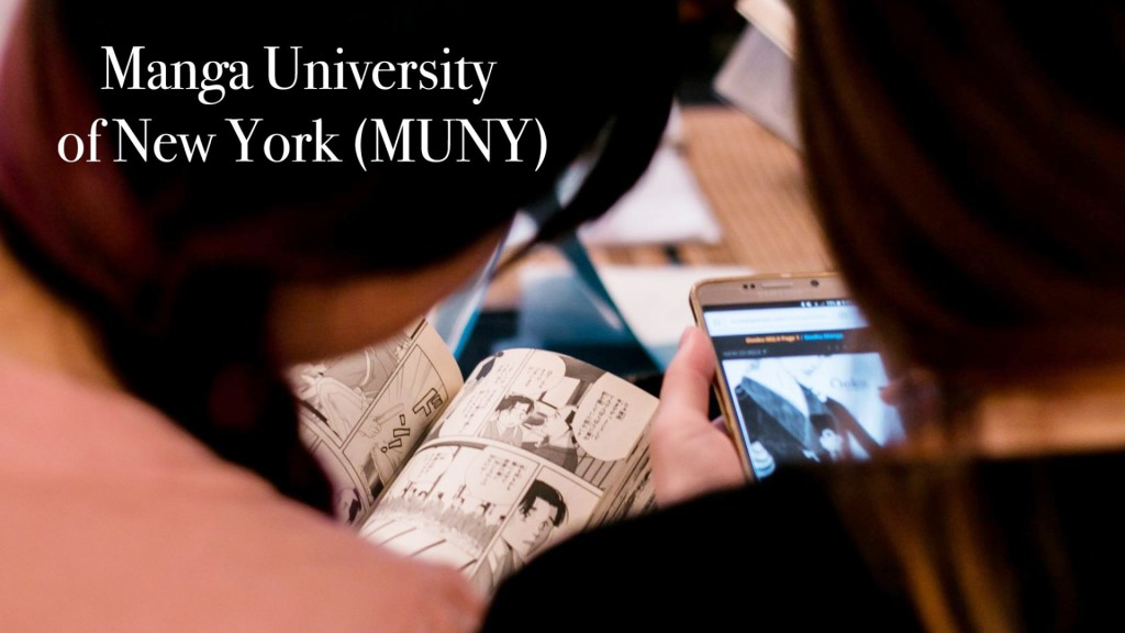 Manga University of New York, MUNY, NYC, Japan, manga, comics, RESOBOX, Manga Reading and Research Network, Dr. Hiromi Tsuchiya Dollase, shojo manga