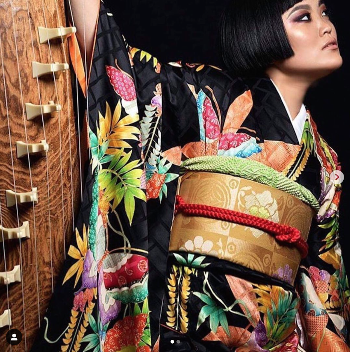 Askua Koto, koto, music, fashion, calligraphy, Kaede Kimonos, NYC, Japan, exhibition, performance