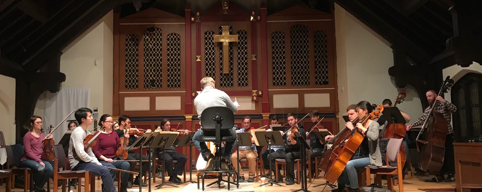 Washington Heights Chamber Orchestra, WHCO, music, Toru Takemitsu, A Thousand Cranes, concert, orchestra, Kenji Bunch, Karen Tanaka, Christopher Theofanidis