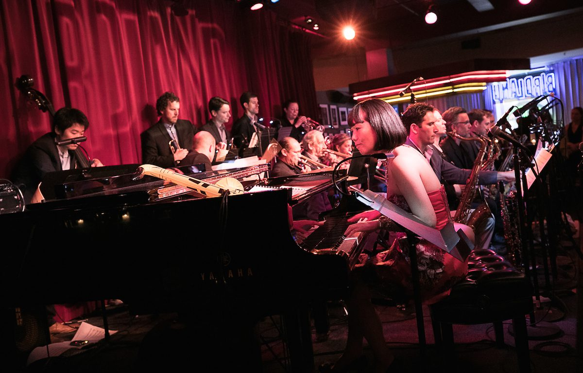 Migiwa Miyajima, Miggy Augmented Orchestra, jazz, orchestra, big band, Birdland, NYC, Japan, concert