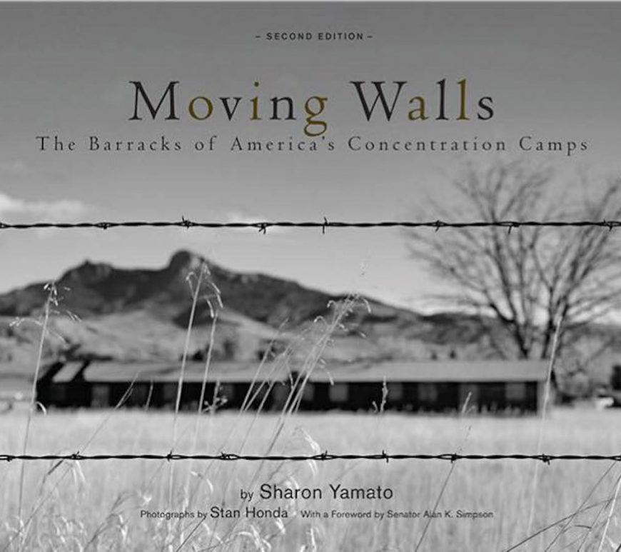 Moving Walls, Stan Honda, Heart Mountain, Wyoming, NYC, Japanese Americans, WWII, incarceration, Sharon Yamato, book, the cell, internment, barracks