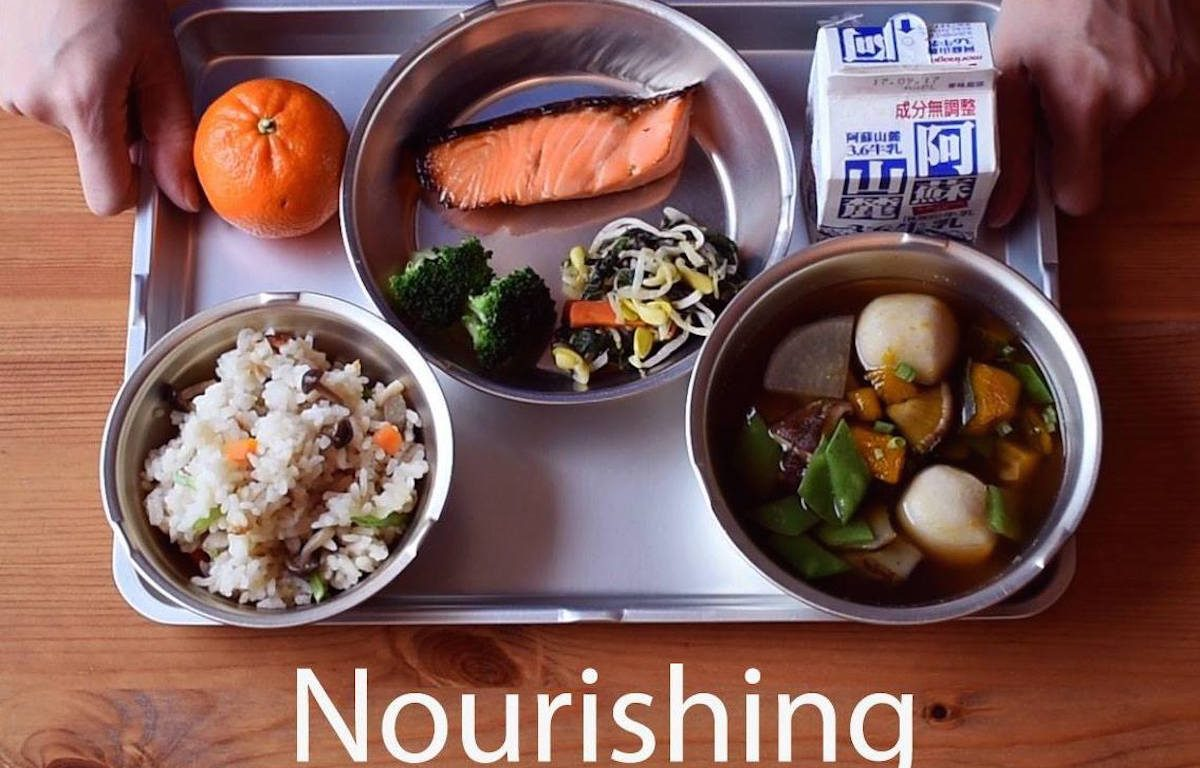 Nourishing Japan, documentary, school lunch, Japanese school lunch, shokuiku, food education, kyuushoku, Japan, NYC, Alexis Agliano Sanborn, Japan Eats, film, Kickstarter, crowdfunding