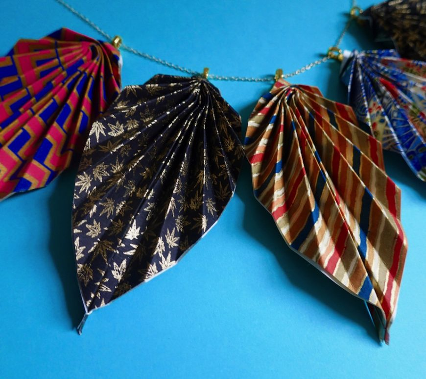 origami, jewelry, origami jewelry, Jewel Kawataki, Japan Society, NYC, Japan, crafts