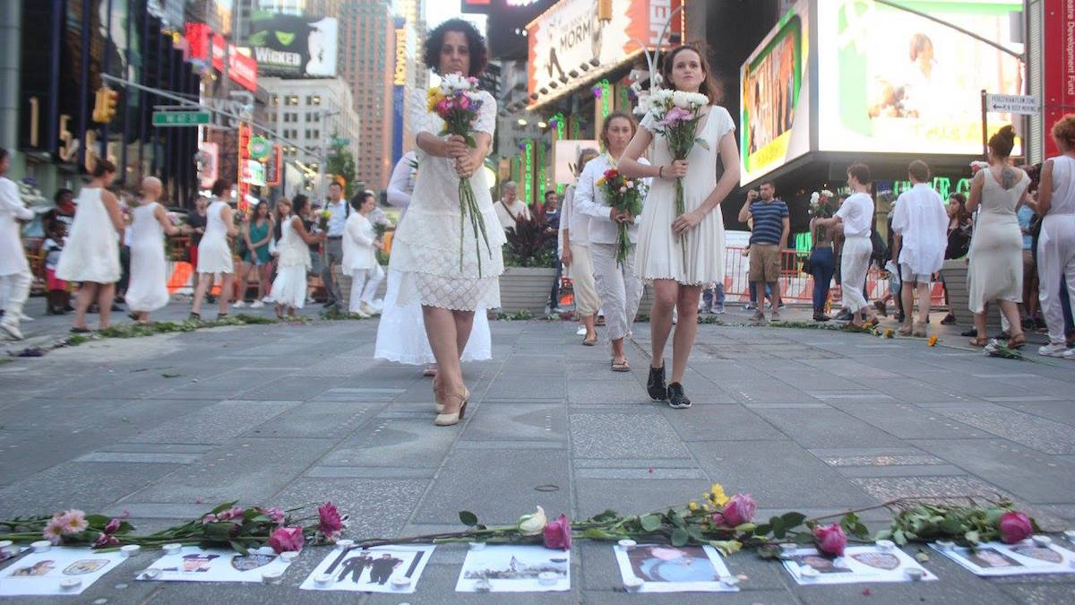 Vangeline Theater, Butoh, avant-garde, NYC, Japan, dance, creative movement, 9/11, Times Square