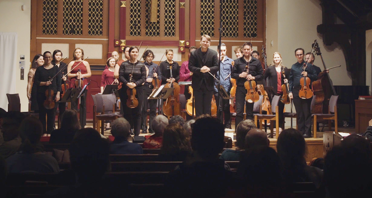 Washington Heights Chamber Orchestra, WHCO, Kenji Bunch, Toru Takemitsu, Karen Tanaka, Christopher Theofanidis, strings, orchestra, music, concert